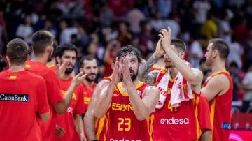 España celebra una victoria