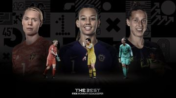 Premio 'The Best' a la mejor portera