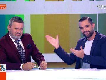 """Así ha sido el reencuentro en Zapeando entre dos """"viejos camaradas"""" como Dani Mateo y Miki Nadal"""