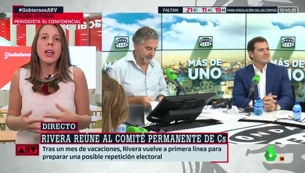 Paloma Esteban, periodista de 'El Confidencial'