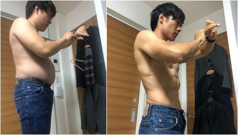El antes y el después de 'Hiiragi Sensei'
