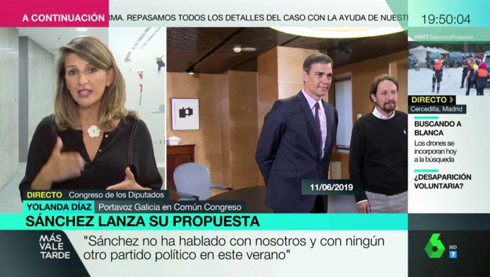 """Yolanda Díaz: """""""