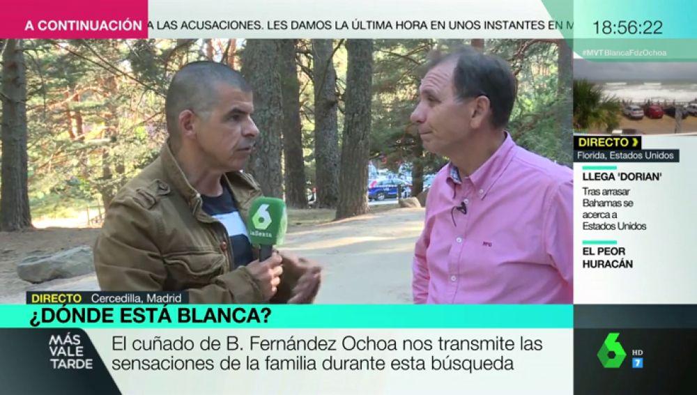 """Habla el cuñado de Blanca Fernández Ochoa: """"No tenemos ninguna duda de que la desaparición ha sido voluntaria"""""""