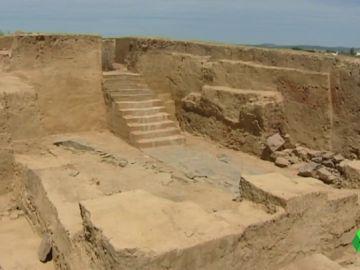 El yacimiento arqueológico de Casas del Turuñuelo