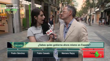 """""""En España gobierna Felipe VI"""": Santi Villas sale a la calle en busca de los millennials mejor informados"""