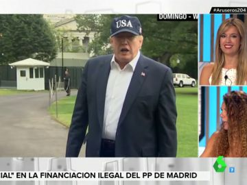 ¿La gorra de USA de Donald Trump es 'made in China'?