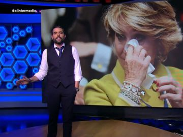 """El mensaje de Dani Mateo al PP: """"Qué feo lo que hacen renegando de Aguirre, pobrecita, no crió ranas sino cuervos"""""""