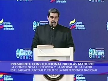 Maduro declara la alerta en frontera con Colombia y ordena ejercicios militares