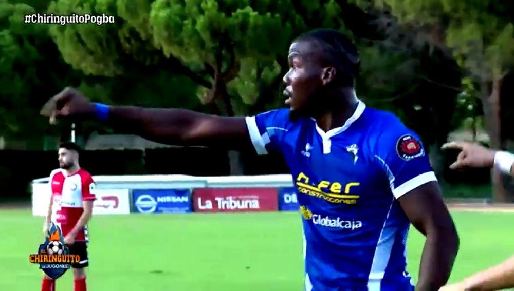 Así fue el debut de Mathias Pogba con el Manchego en Ciudad Real
