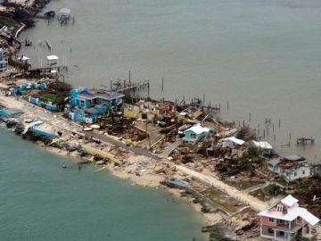 El paso del huracán Dorian por Bahamas