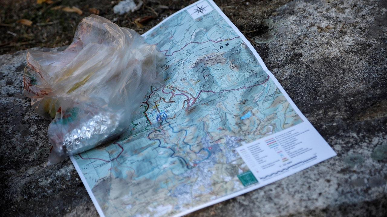 Un mapa de la zona de búsqueda de Blanca Fernández Ochoa