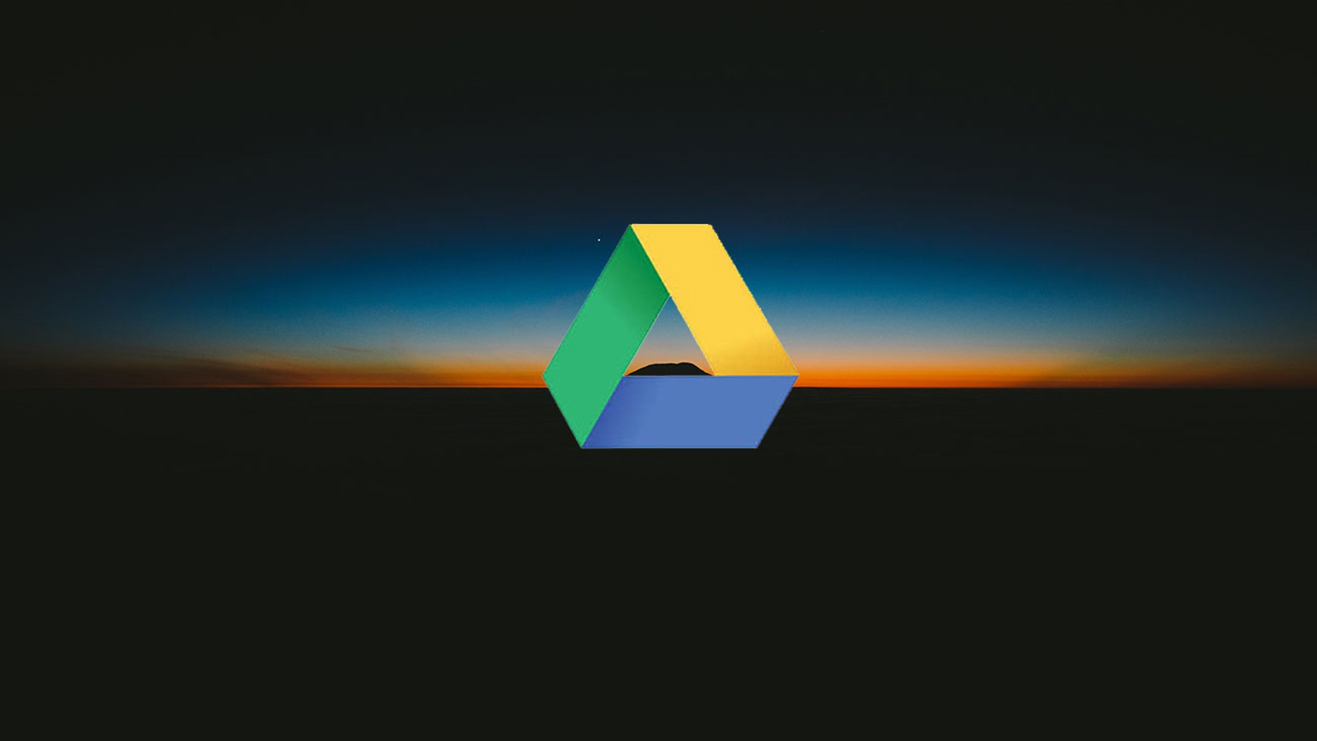 Modo oscuro Google Drive