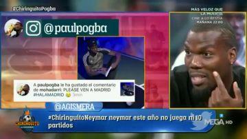 """Mathias Pogba, sobre el curioso 'like' de su hermano Paul: """"Ahora no vale nada"""""""