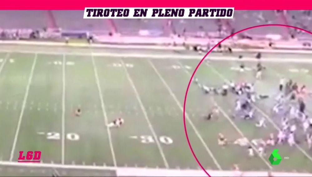 Terror en un partido de fútbol americano: un tiroteo en la grada deja al menos 10 heridos