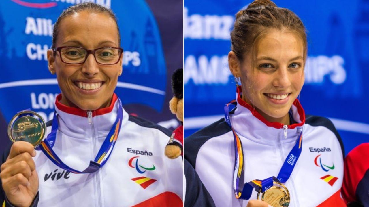 Teresa Perales y Nuria Marqués logran la medalla de oro en los Mundiales de natación paralímpica