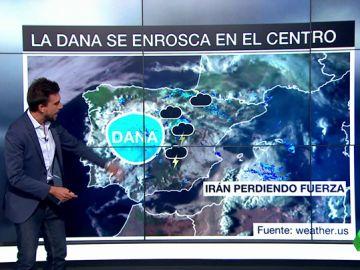 Las previsiones de la gota fría: ¿cuál es el próximo destino de la Dana?