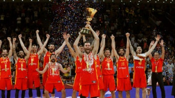 Rudy Fernández levanta el Mundial de baloncesto