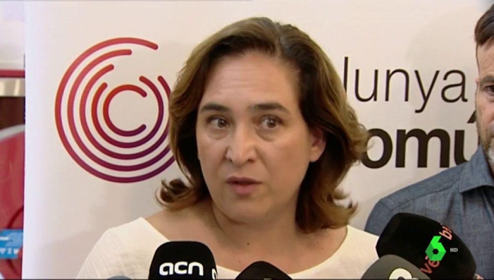 Ada Colau asume la inseguridad en Barcelona y se suma a las protestas de los vecinos