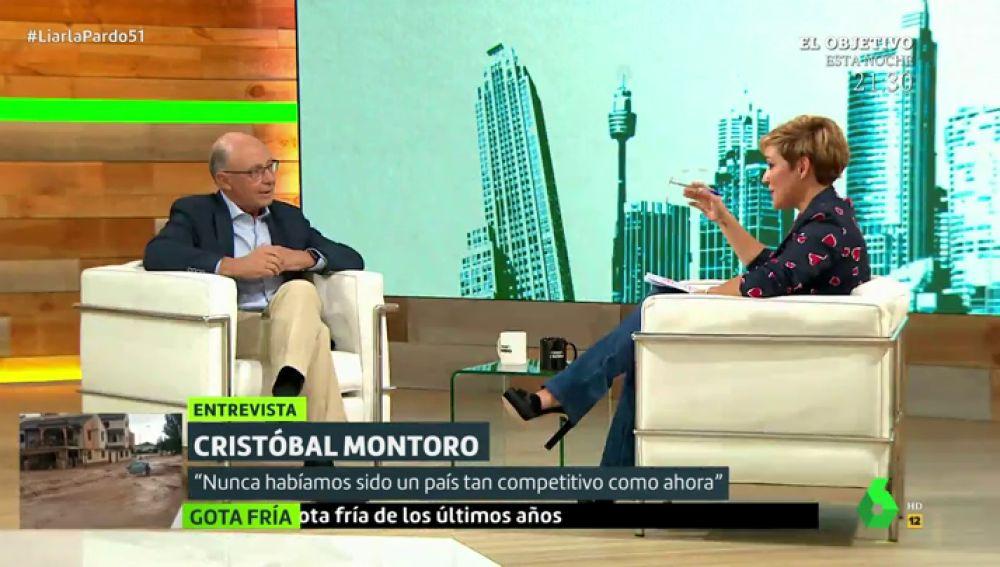 Cristóbal Montoro y Cristina Pardo
