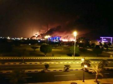 Ataque a refinerías de Arabia Saudí