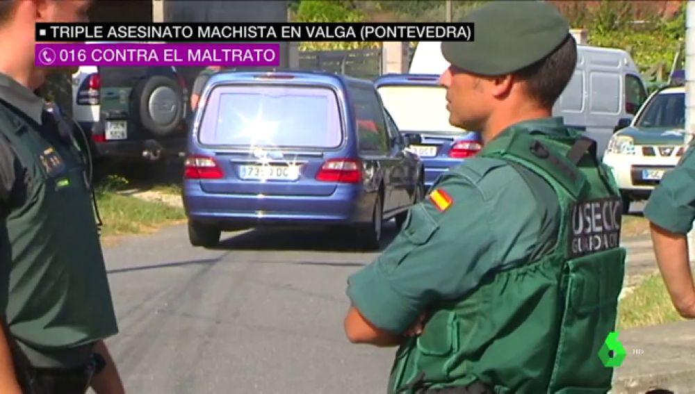 Un hombre mata a su exmujer, su exsuegra y su excuñada en Valga delante de sus hijos
