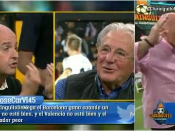 El intercambio entre Juanma Rodríguez y D'Alessandro que 'salpicó' a Alfredo Duro
