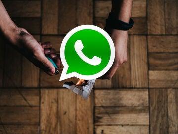 """""""quemando"""" un mensaje de WhatsApp"""