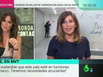 """Yolanda Díaz: """"Sánchez ha dado un portazo al diálogo. El verbo que mejor conjuga es 'rechazar'"""""""