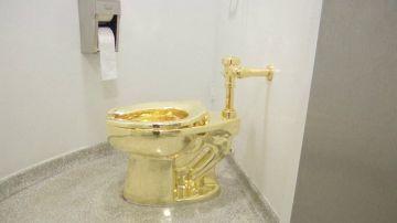 El robo del váter de oro y otros retretes artísticos