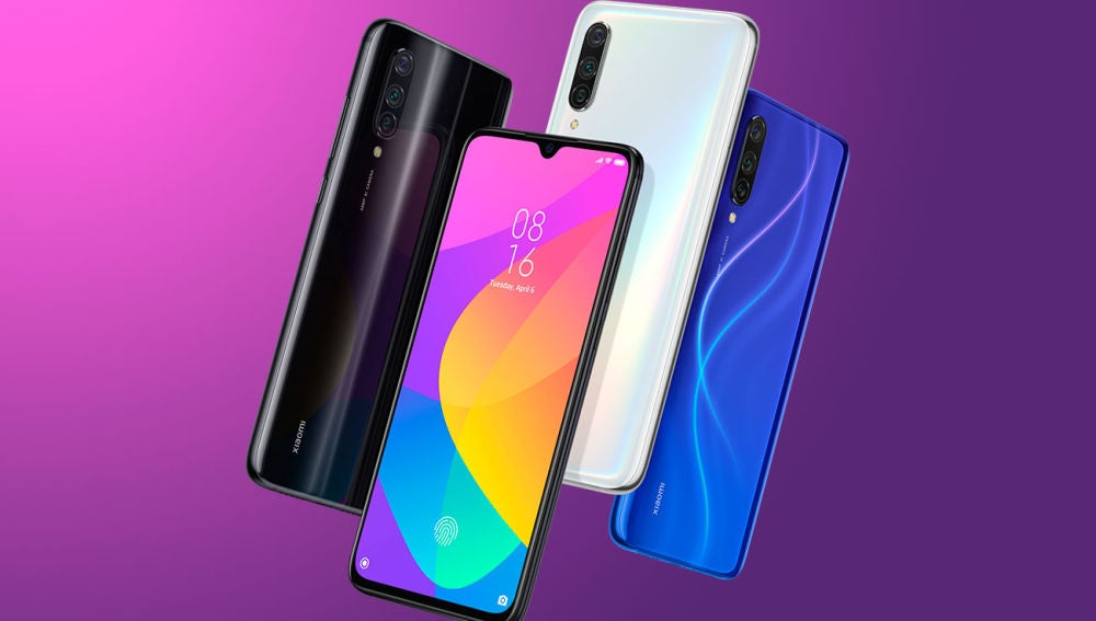 Colores disponibles del Xiaomi Mi 9 Lite