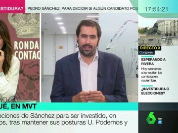 """Carlos Cué: """"Los pactos llevan tiempo, los anuncios de último minuto son cuestiones de relato"""""""