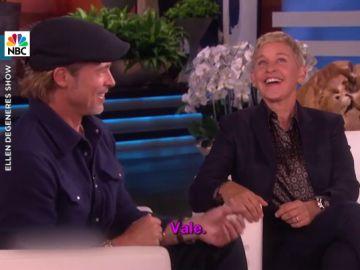 El día que Ellen Degeneres intentó 'quitarle' la novia a Brad Pitt delante de él