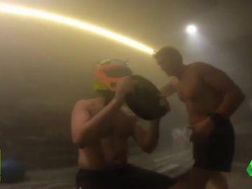 El entrenamiento extremo de 'Checo' Pérez en una sauna a 50 grados