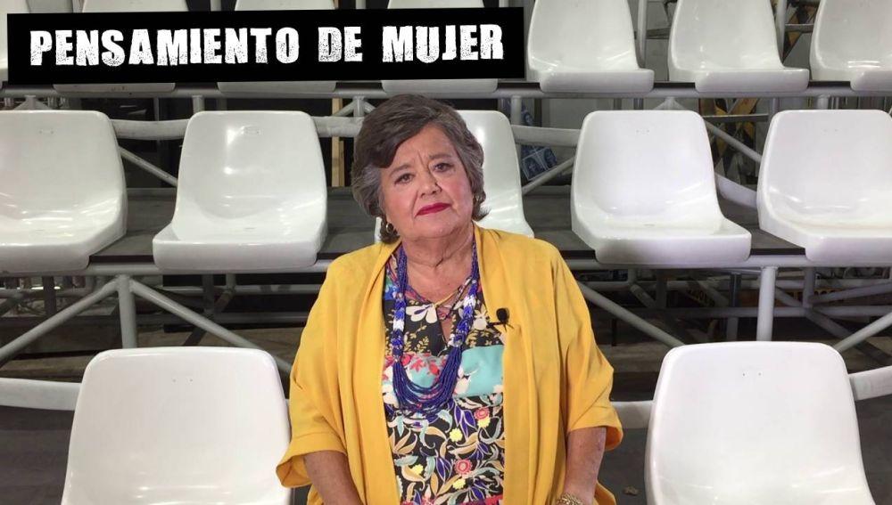 Cristina Almeida comenta la manifestación por la emergencia feminista