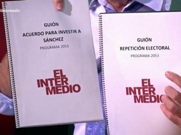 """El guion que hubiera tenido El Intermedio si hubiera investidura: """"Vamos a ver qué chistes nos hemos perdido"""""""