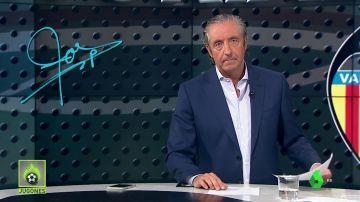"""Josep Pedrerol: """"Los jugadores del Valencia son profesionales. Pues que lo demuestren"""""""