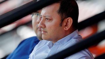 El presidente del Valencia CF Anil Murthy
