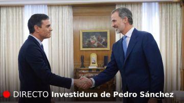 Investidura de Pedro Sánchez | El rey Felipe VI