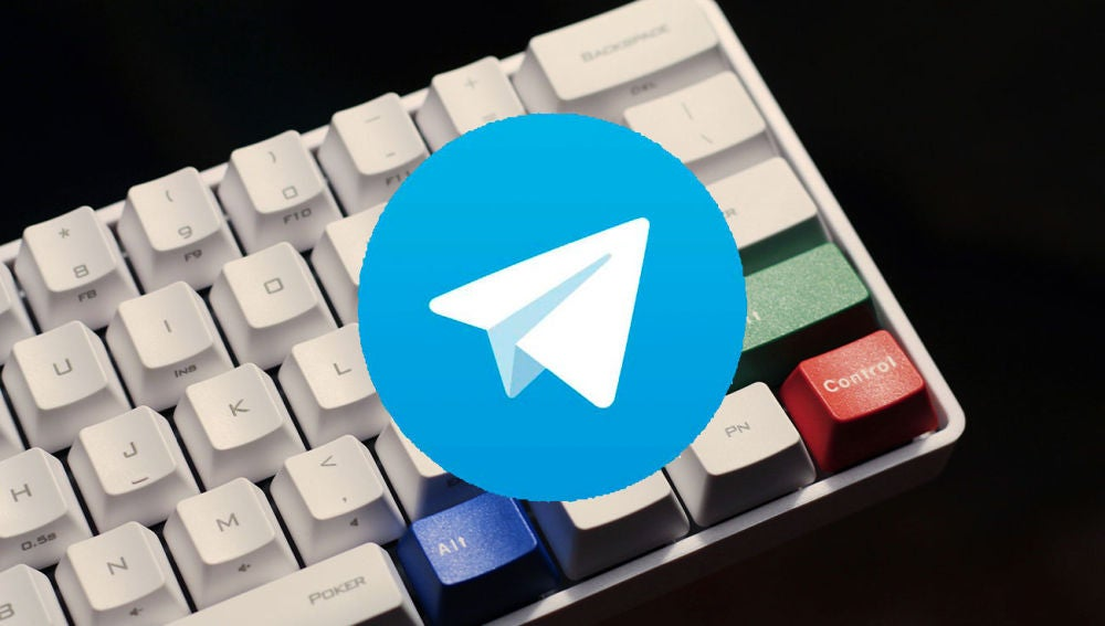 Telegram botón Intro