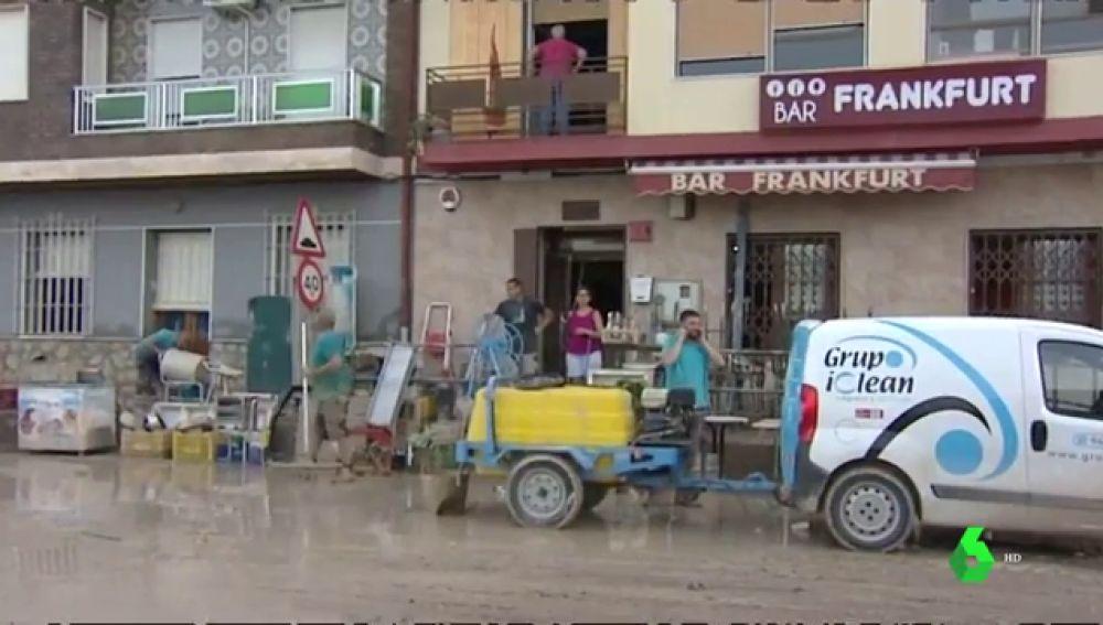 Saqueos tras la gota fría: roban en bares aprovechando los destrozos
