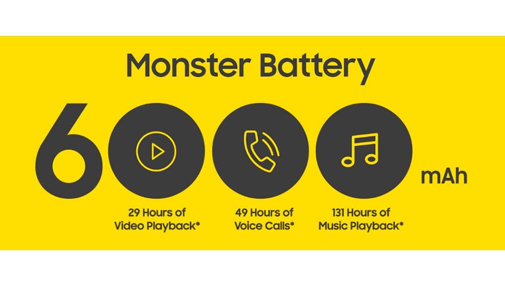 La enorme batería del Samsung Galaxy M30s