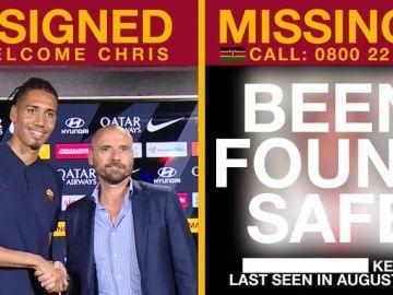 La campaña de la Roma para encontrar a niños desaparecidos