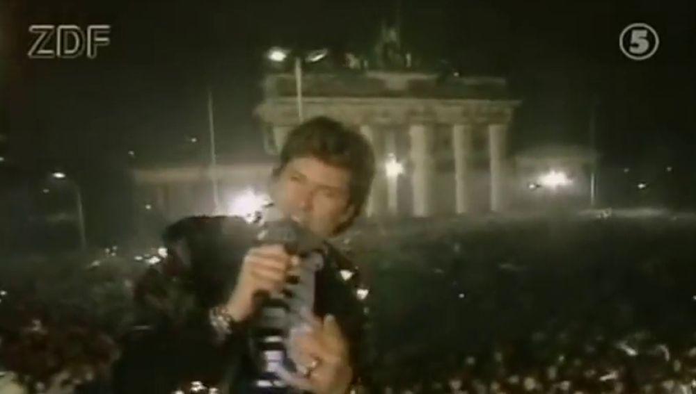 De cómo David Hasselhoff ayudó a tirar el muro de Berlín