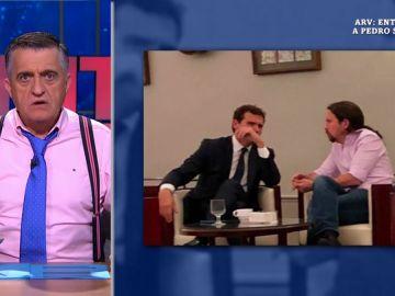 Wyoming analiza la foto de Iglesias y Rivera