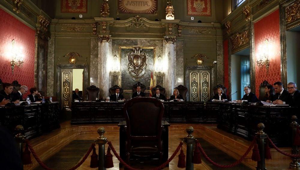 Vista pública en el Tribunal Supremo para revisar la condena de los condenados por el caso Alsasua