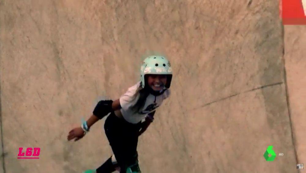 Así es Sky Brown, la skater prodigio de 11 años que está a las puertas de los Juegos Olímpicos
