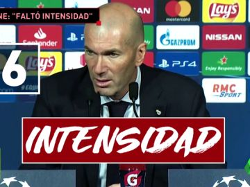 """Zidane señala a sus jugadores: """"Faltó intensidad"""""""