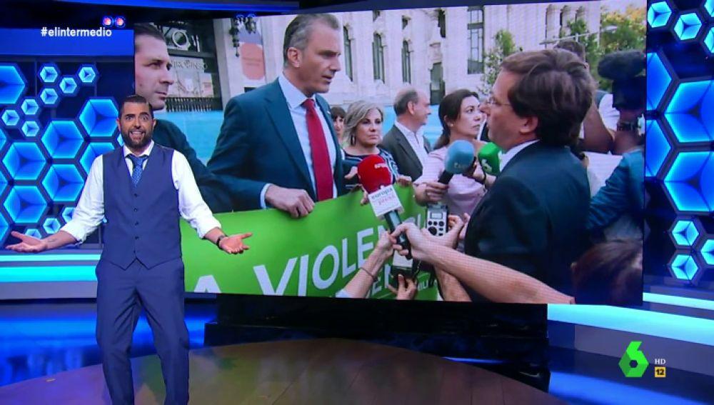 """El 'dardo' de Dani Mateo a Martínez Almeida: """"Está a favor de la igualdad, de que en Madrid PP y Vox parezcan iguales"""""""