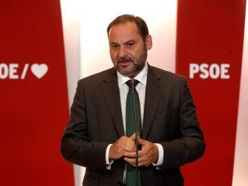 El ministro de Fomento en funciones, José Luis Ábalos.