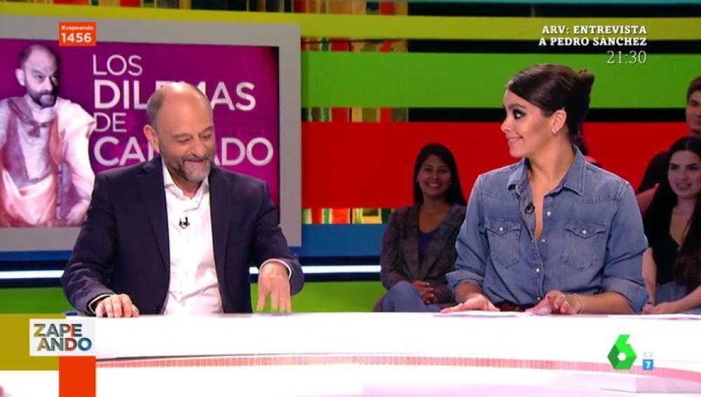 Javier Cansado y Cristina Pedroche